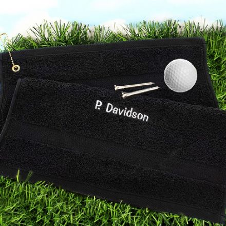 Personalised Golf Towel